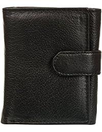 [Sponsored]Mir Black Men's Tri-Fold Wallet