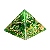 Pranakristall® Harmonie - Orgonit Pyramide von Oz Orgonite (Standard S)