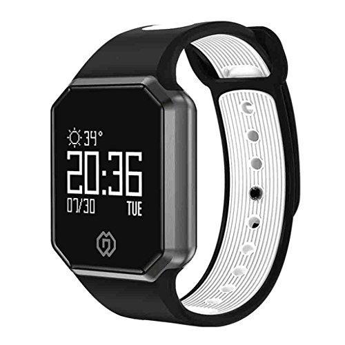 Blutdruckmessgerät Blutdruck Smart Armband Large-Screen Messung Pulsoximeter Wetter Schrittzähler Farbe Wasserdicht Bluetooth Armband