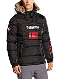 GEOGRAPHICAL NORWAY Blouson Bolide noir mat m