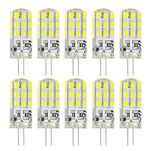 Rayhoo 10 x G4 Base, 24 LED
