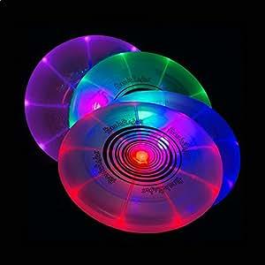 Frisbee lumineux LED