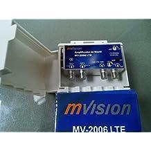 Amplificador de mástil Mvision MV-2006 2 Entradas PARA TDT