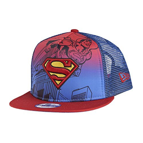 New Era 950 DC Comics Kinder Hero Scene Snapback Cap (Superman) - Dc-mütze