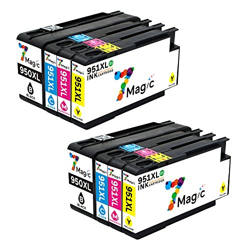 7Magic 950XL 951XL Cartucho Tinta Compatible HP 950XL