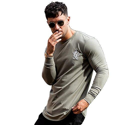 Gym King Noir Long Sleeve Vetiver T-Shirt - Khaki Khaki
