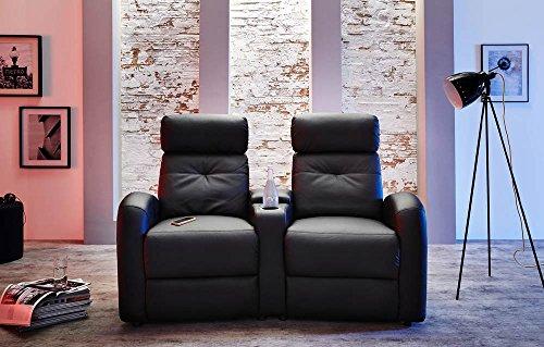 2er-Kinosessel-Cinema-Heimkino-Sessel-TV-Sofa-Relaxcouch-Kunstleder-schwarz-verstellbar-Liegefunktion