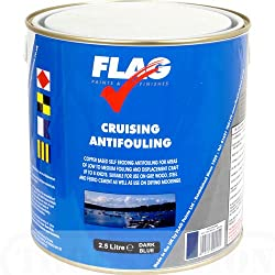 FLAG Cruising Antifouling Paint Dark Blue 2.5 Ltr