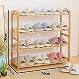 MDBLYJ Einfache Mehrschichtige Schuhregale, Regale, Hausschuhe, Lagerregale, Schuhregale. - Schuhschrank (größe : 70cm)