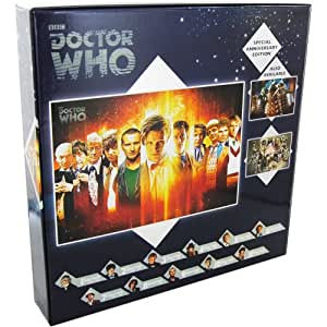 DOCTOR WHO SPECIAL ANNIVERSARY EDITION 1000 PIECE PUZZLE : THE DOCTORS