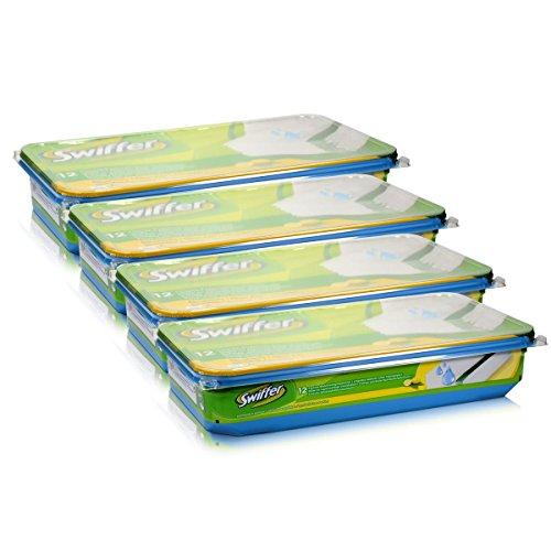 prezzo Swiffer 4 confezioni da 12 panni umidificati