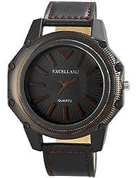 Excellanc llanc Reloj de hombre con piel imitations pulsera