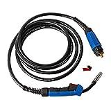 Pacchetto Tubo Flessibile per Gas di Protezione Torcia per Saldatura MB15 Torcia per Saldatura 4m MIG / MAG