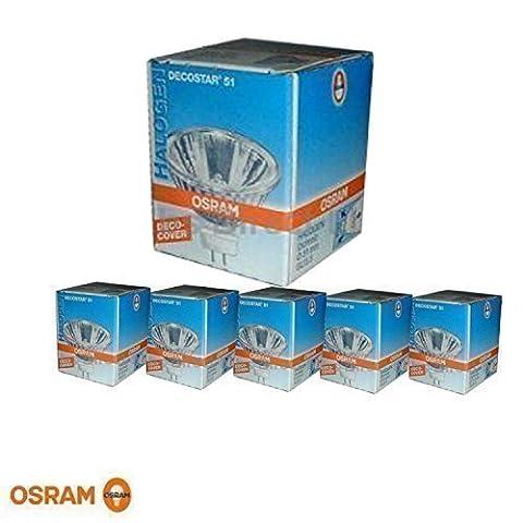 Pack of 3 Deco DECOSTAR 51 Cover 50 W GU5.3 12 V 10° 41870 Relfektor Bulb SP