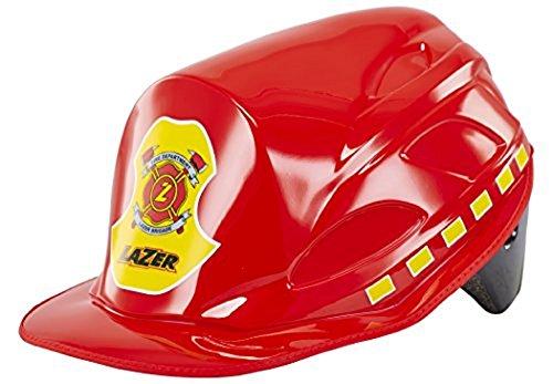 Lazer Kinder Helm Nut-z Race Grün Edition plus Crazy Nutshell Fireman, Muster, Uni, FA0037 Preisvergleich