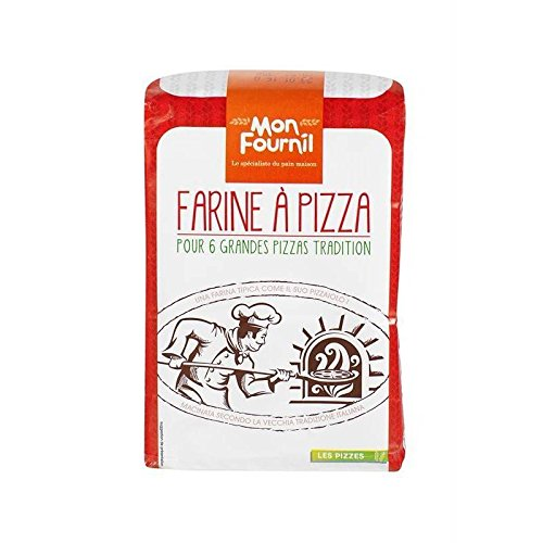 Mon Fournil - Pizza Tipo Di Farina Zero 1Kg - Farine À Pizza Type Zero 1Kg - Prezzo Per Unità - Consegna Veloce