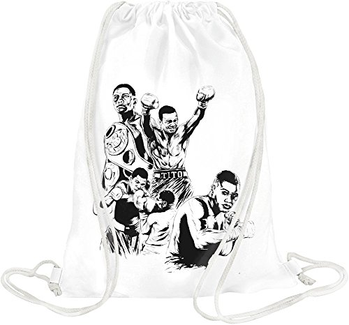Felix Trinidad Illustration Drawstring bag -