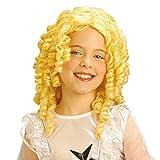 Widmann - Pe902 - Perruque Ange Blond / Poupee Enfant Flamme Retardante