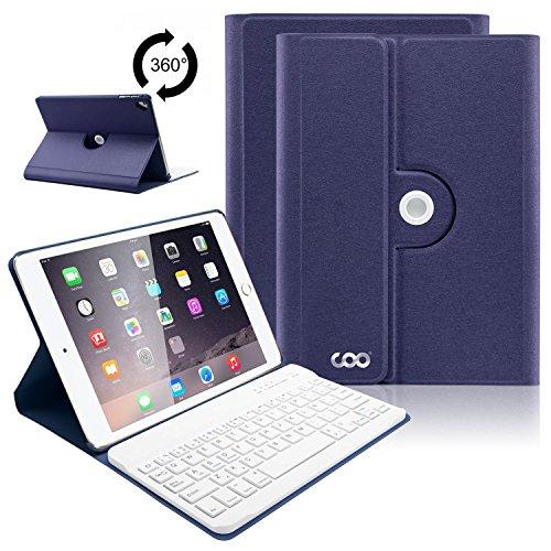 COO Funda con Teclado iPad 9.7, Cubierta con Teclado Español Bluetooth para...