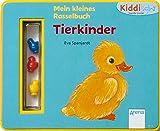 Tierkinder: Mein kleines Rasselbuch. Kiddilight