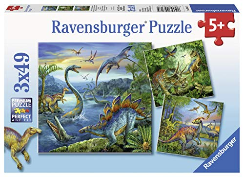 Ravensburger 09317 - Faszination Dinosaurier (Puzzle Dinosaurier)