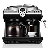 Best Commercial Espresso Machines - RISHIL WORLD® DL-KF7001 Espresso Coffee Machine Consumer Review