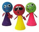 #4: INFInxt Kid's Smiley Emoji Jump Elf Fly Toy Birthday Party Return Gift Favors (INJUMPDOLL01) - Set of 6