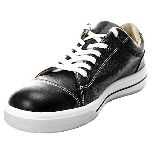 Elten Sneaker L10 Shadow Low S3 Stylischer Arbeits & Sicherheitsschuh ESD ( schwarz, wasserdicht, antistatisch, Stahlkappe), 39