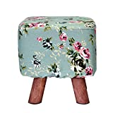 XQY Chair-Solid Wood Stoff Hocker Sofa Hocker Schuh Schuh Simple Hocker Living Dwarf Pier Home Bequem,6