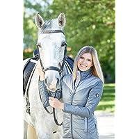 Covalliero mujer chaqueta acolchada Kaylee (diferentes tamaños y colores), color gris oscuro, tamaño xx-large