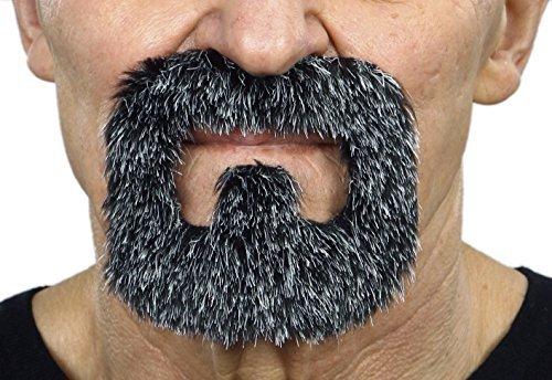 (Mustaches Schwarzweißer Häftlingsr fälschen, selbstklebend Bart)