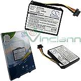 X-Batterie TM100SL AHL03711018 VF1C pour TOMTOM Go Live 1005GB Live 1000 Regional 4CS0,002,01 1000GB Go Go Live 1005 1000mAh 1000