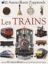Trains (Autocollants J'Apprends)