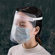 درع طبي للوجه والأسنان، يحمي العينين والوجه بشريط مطاطي، مضاد للضباب وقابل للتعديل لحماية الوجه، 5 قطع