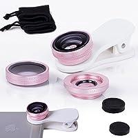 ZTE Blade V7/V7lama universale clip 3in 1Fisheye Lens per fotocamera
