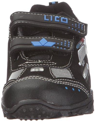 Lico Chief V Jungen Sneakers Schwarz (Schwarz/Royalblau/Silber)