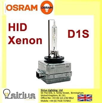 Disjoncteur Osram Xenon HID Xenarc Nuit D1S 4300K __phares de lumire blanche ampoule unique