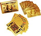 Accedre 24 K Gold Plated Poker Playing C...