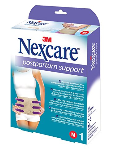 Nexcare N19PPM Schwangerschaftsbandage, latexfrei, waschbar, Größe M