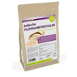 Flohsamenschalen 99% Reinheit - 500g Zippbeutel - indische Flohsamen - 1er Pack (500g) - Premium Qualität