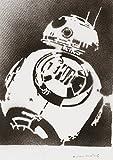 Droide BB-8 STAR WARS Hecho A Mano - Handmade Street Art Poster