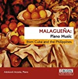 Malaguena: Piano Music From Cuba & Philippines by Adolovni Acosta (2008-03-04)