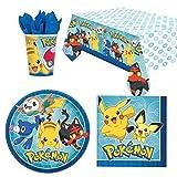 Pokemon Partygeschirr Pack für 8