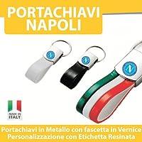 PORTACHIAVI AUTO MOTO TUNING - NAPOLI CALCIO - PORTACHIAVE in Metallo printerlad.it (TRICOLORE)