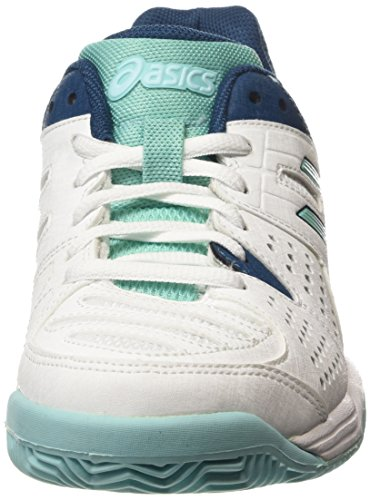Asics Gel-padel Pro 3 Sg Damen Tennisschuhe Weiß (white/pool Blue/blue Steel 0139)