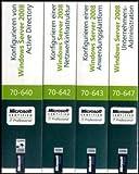 MCITP Windows Server 2008 Enterprise Administrator CorePack - Original Microsoft Training für Examen 70-640, 70-642, 70-643 und 70-647