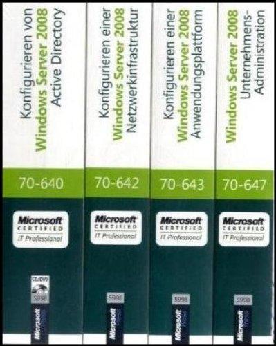 MCITP Windows Server 2008 Enterprise Administrator CorePack - Original Microsoft Training für...