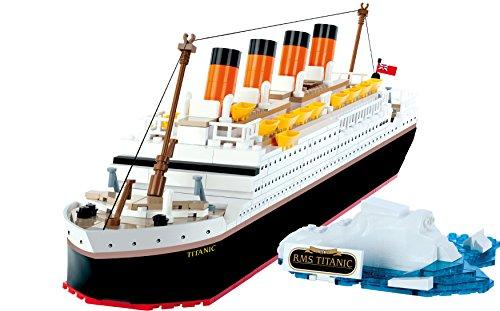 Cobi 1914- Titanic, White Star Line, 500 ladrillos de construccion