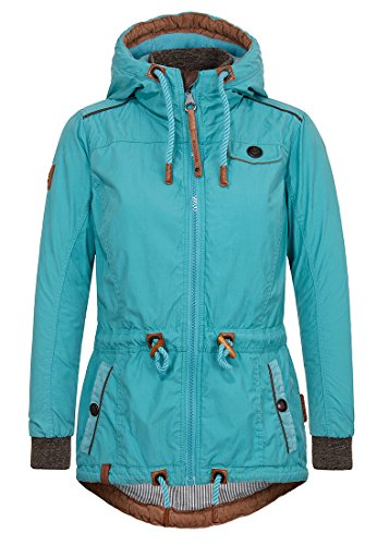 Naketano Female Jacket Schlaubär Turquoise, XL