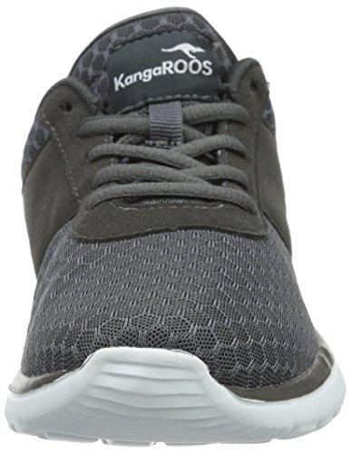 KangaROOS Damen Bumpy Sneakers Grau (dk Grey 230)